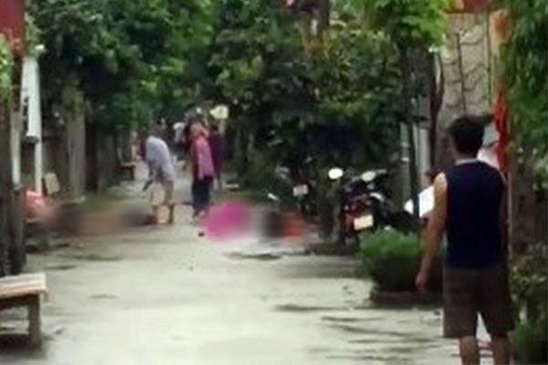 Anh chém em ruột, 2 người chết, 3 người nguy kịch ở Hà Nội ngày 1/9/2019